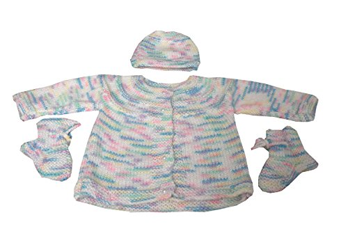 AKHIL & AARNA Baby Sweater (Rangoli)