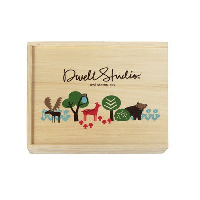 Image of DwellStudio Stamp Set, Owls