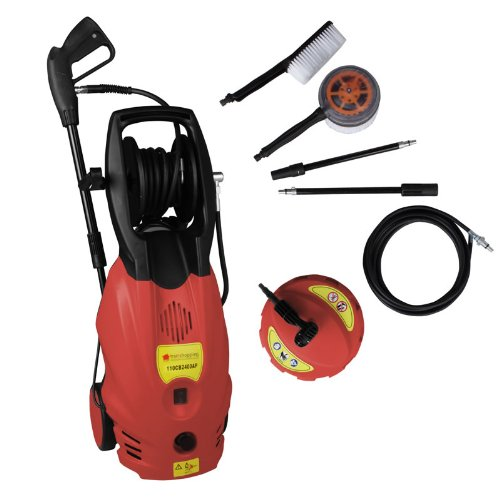 NEW TRUESHOPPING® 'MEGA BLASTER' POWER PRESSURE WASHER 165 BAR PUMP 2400W MOTOR WITH ACCESSORIES  &  PATIO CLEANER