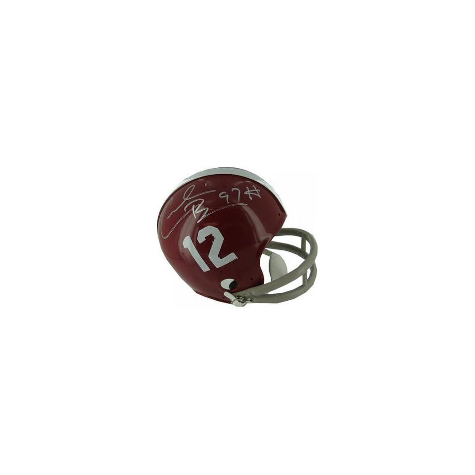 Cornelius Bennett Signed Alabama Crimson Tide Mini Helmet
