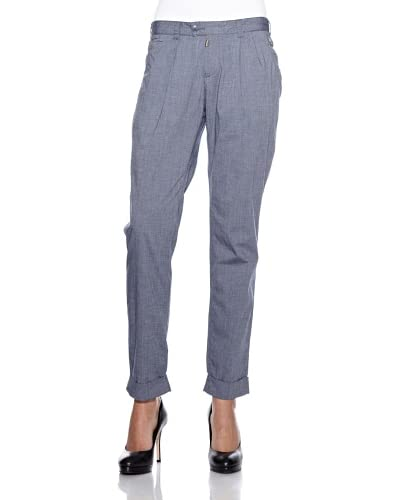 Timezone Pantalone Blu Grigio W28