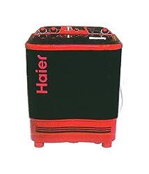 Haier XPB68-114D(Black) Semi-automatic Top-loading Washing Machine (6.8 Kg, Black)
