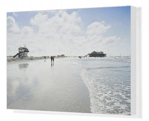 canvas-print-of-stilt-houses-and-beach-st-peter-ording-schleswig-holstein-germany