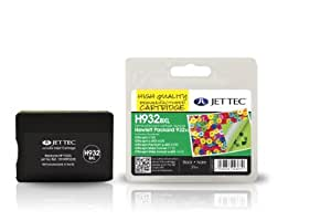 Jet Tec Compatible Ink Cartridge for HP HP932XL - Black