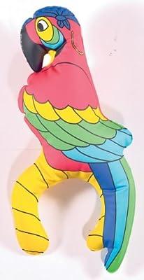 Aufblasbarer Piraten-Papagei für die Schulter von Amscan in [ProductCategories]