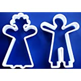 NEW GingerBread Man Doll Girl Boy Groom Bride Man Woman Sugar COOKIE BISCUIT CUTTER