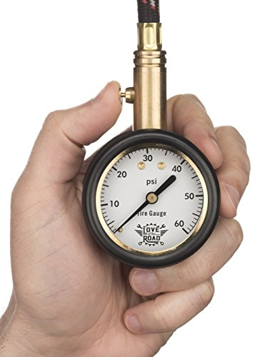 love of the road tire pressure gauge for tires 60 psi vehicles parts vehicle parts accessories. Black Bedroom Furniture Sets. Home Design Ideas