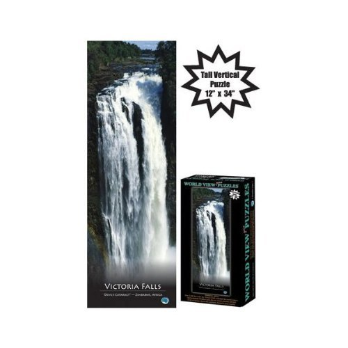 Victoria Falls World View Vertical Puzzles 500 Pieces