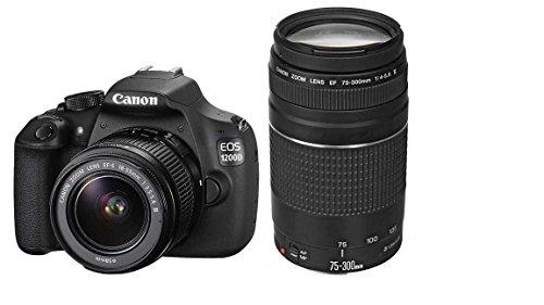 canon-eos-1200d-rebel-t5-eos-kiss-x70-18-55-35-56-ef-s-iii-75-300-40-56-ef-iii-usm-appareils-photo-n