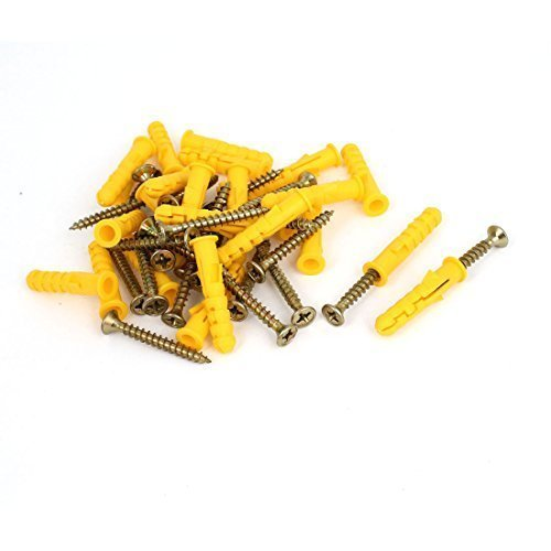 sourcingmapr-pozidriv-head-self-drilling-drywall-screws-nails-anchor-kits-25-pcs