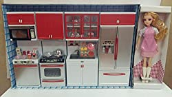 Toy Complete Modern Battery Operated Kitchen Set for Kids