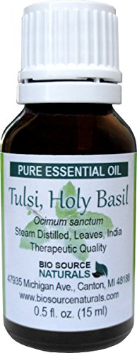 Tulsi, Holy Basil (Ocimum Sanctum) Pure Essential Oil 30 Ml