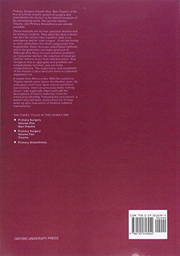 Primary Surgery: Volume 1: Non-Trauma: Non-Trauma Vol 1 (Primary Surgery Series)