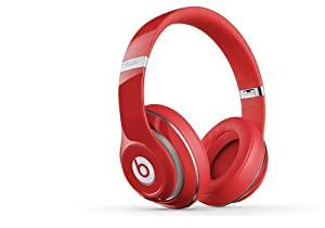 Beats Studio Over-Ear Headphones (Red)