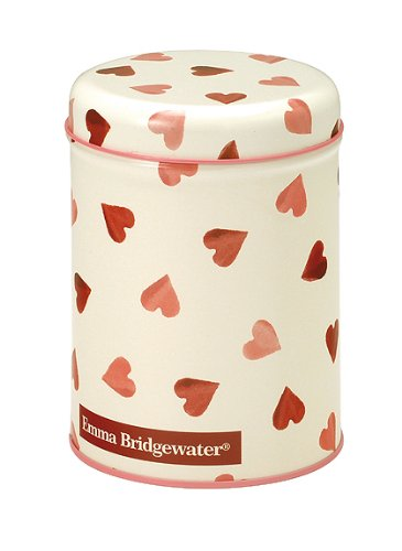 Emma Bridgewater Pink Hearts Round Caddy