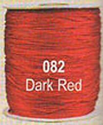 #082 Dark Red Chainette Shawl Fringe - 1800 ft Spool