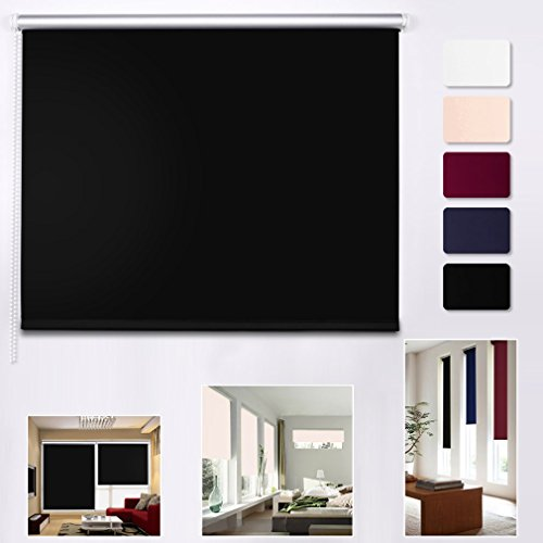 shiny home rollo abdunkeln verdunkelungsrollo klemmrollo mit klemmtr gern f r fenster ohne. Black Bedroom Furniture Sets. Home Design Ideas
