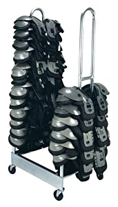 2 Stack Shoulder Pad Rack - FB243D by Olympia Sport