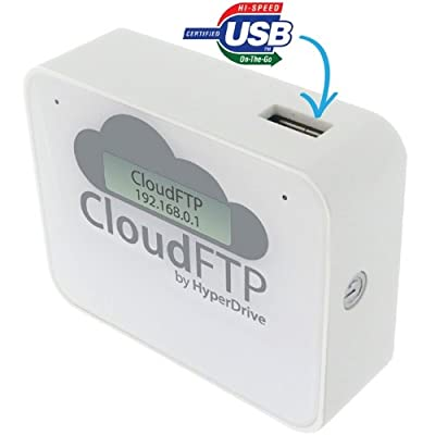 CloudFTP (White) Wirelessly share any USB storage with iPad/iPhone from Sanho