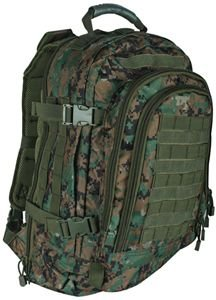 Fox Outdoor Tactical Duty Pack, Digital Woodland 09959856563