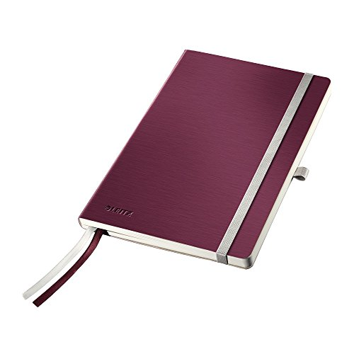 leitz-style-a5-soft-cover-squared-notebook-garnet-red