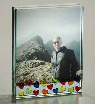 Spaceform Large Photo Frame - Lots of Multi-Colour