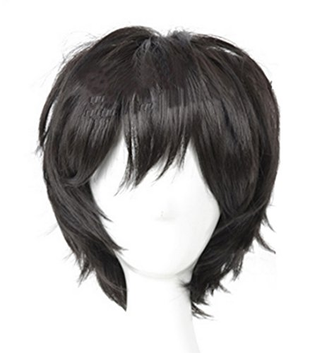 Fancy Prodigy Style Cosplay Wig Hair Costume Accessories for Halloween