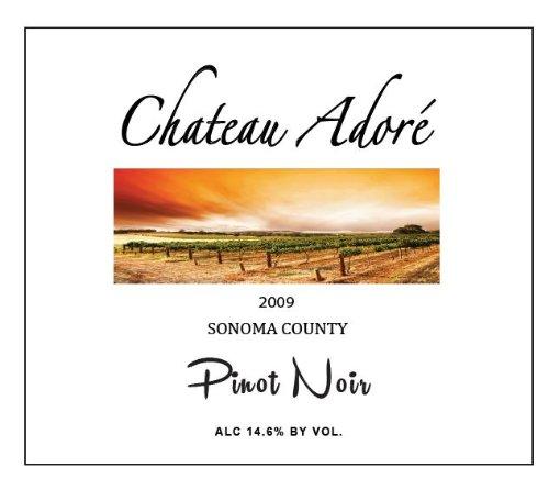 2009 Chateau Adoré Sonoma County Pinot Noir 750 Ml