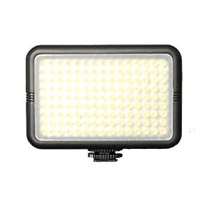 Yongnuo SYD-1509 - Foco con 135 LED para cámaras DV (960 lm, hasta 5 m, 12 niveles de brillo, 6,7 x 5,3 x 2,8 cm)