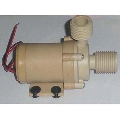 Solar 12V DC Hot Water Circulation Pump Brushless Motor Water Pump 3M