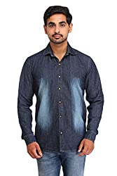 Snoby blue wash Denim shirt SBY8090