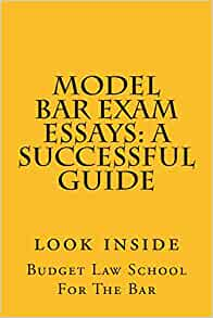 bar exam essay model answers