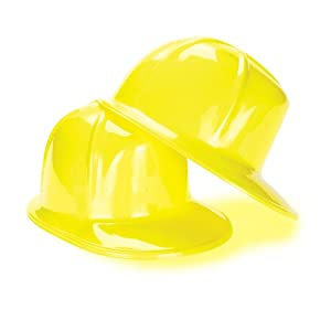 US Toy Construction Party Hard Hat (pack of 12)