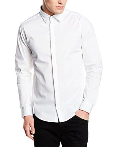 Springfield Camisa Vestir Blanco