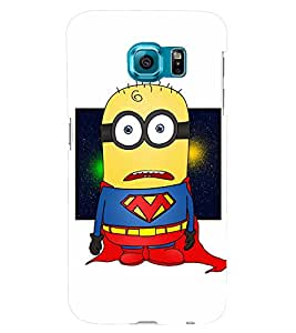 TOUCHNER (TN) Super Minion Back Case Cover for Samsung Galaxy S6 Edge::Samsung Galaxy Edge G925