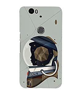 EPICCASE Spacewomen Mobile Back Case Cover For Huawei Nexus 6P (Designer Case)