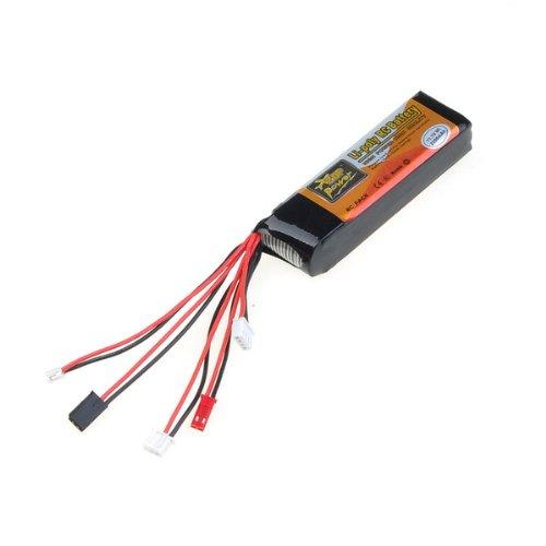 11.1V 8C Li-poly Li-Po RC Battery for JR Transmitter