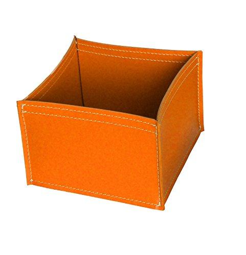 KOME 531: Set svuota tasche in cuoio rigenerato composto da 3 pezzi, colore Arancio.