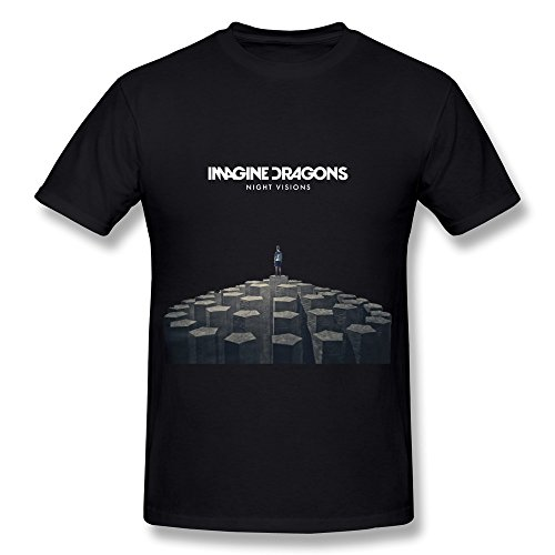 Men's Imagine Dragons Night Visions T-shirt XXL (Sharpe Daryl compare prices)