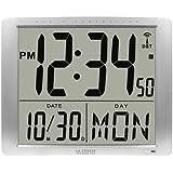 La Crosse Technology 515-1316 16-Inch Atomic Digital Wall Clock, Super Large