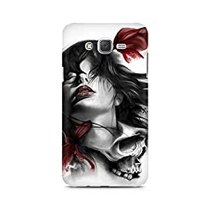 Mobicture Girl Abstract Premium Printed Case For Samsung J7