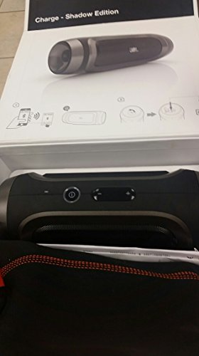 Jbl Charge Portable Wireless Bluetooth Speaker (Black Shadow)