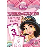 Disney Princess 4 Deck Learning Flash Cards (Numbers,Addition,Subtraction,Multiplication)