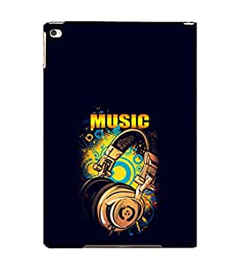 EPICCASE Beat that Music Mobile Back Case Cover For Apple Ipad Air (Designer Case)