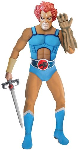 Thundercats Deluxe Lion-O Costume, Blue, Standard