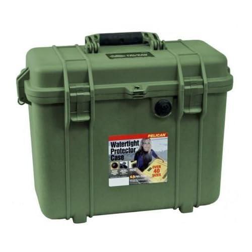 PELICAN ハードケース 1430 15L グリーン 1430-000-130
