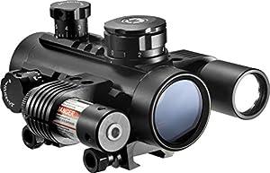 BARSKA Cross Dot Electro Sight Multi Rail Tactical Riflescope