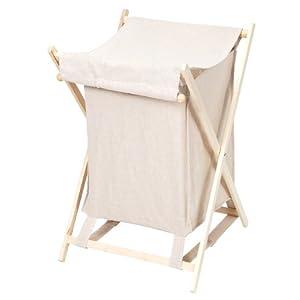 w schekorb holz zeller 13232 w schesammler holz canvas. Black Bedroom Furniture Sets. Home Design Ideas