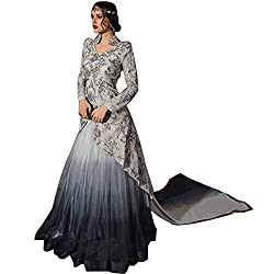PAKISTANI DESIGNER PARTY WEAR GOWN ANARKALI SALWAR KAMEEZ SUIT PARTY WEAR BRIDAL WEDDING SEXY DRESS