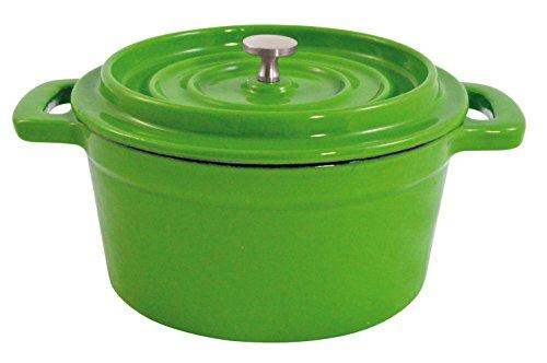 Paderno World Cuisine Mini Green Enamel Dutch Oven, 9-Ounce (Small Enamel Dutch Oven compare prices)